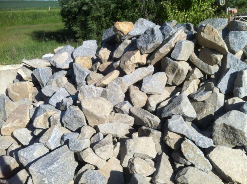 Granit Wasserbausteine